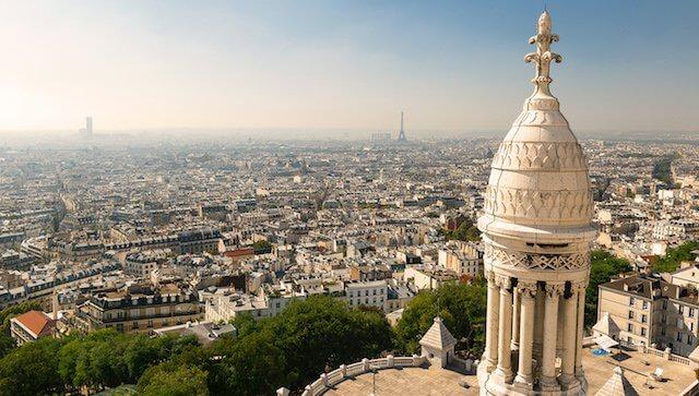 Basílica Sacré Coeur em Paris
