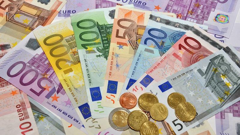 Dinheiro em Bordéus - euros