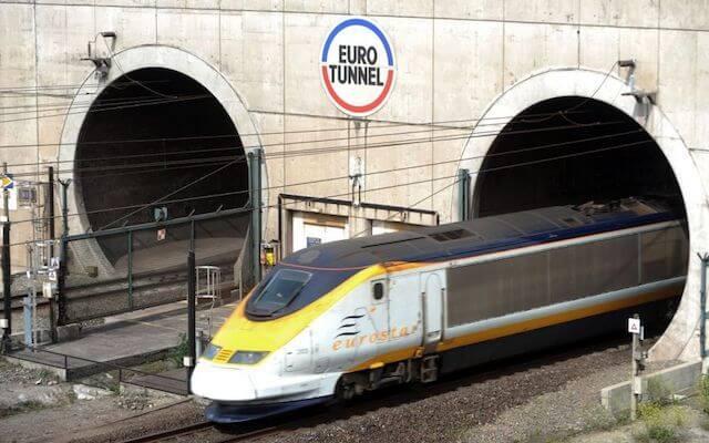 Trem de Paris a Londres