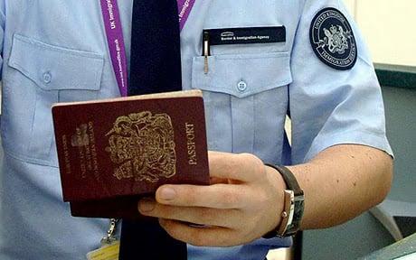 Imigração para entrar em Paris