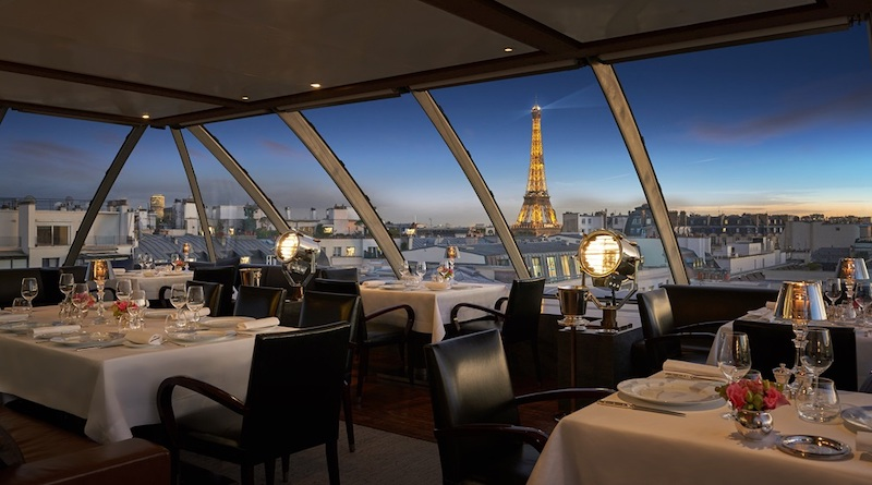 Restaurante Rose L'Oiseau Blanc at The Peninsula em Paris