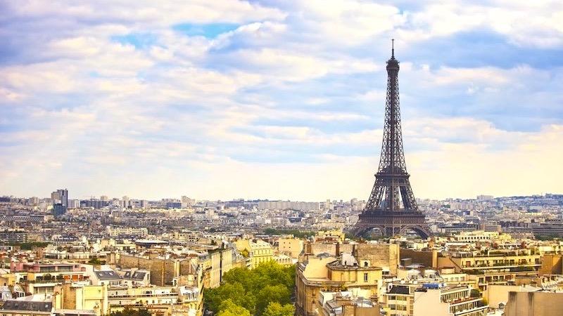 Vista da cidade de Paris