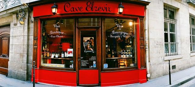 Loja Cave Elzevir em Paris