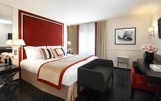Hotel Castille Paris - quarto