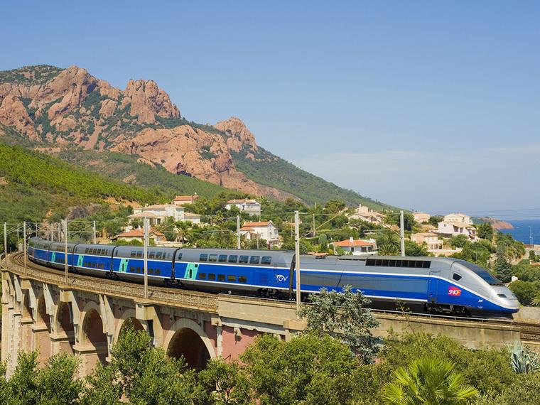 Trem na França