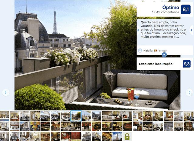 Hotel Warwick Champs-Elysses em Paris