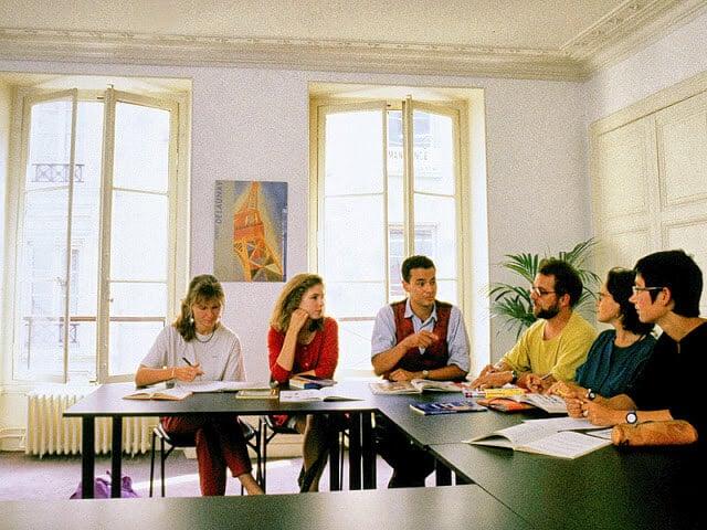 Escolas de inglês em Paris