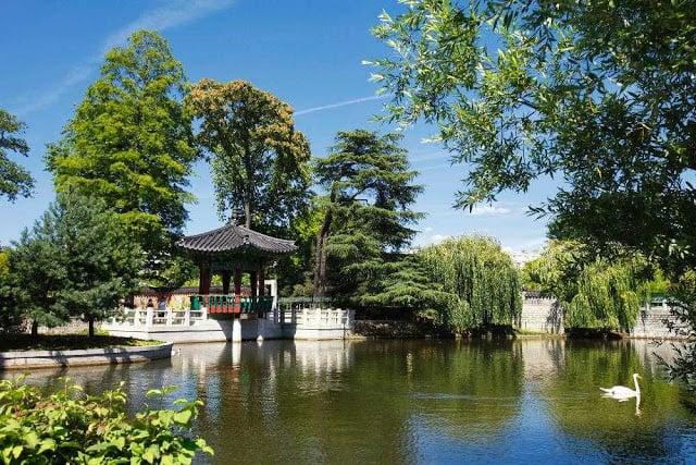 Jardin d'Acclimatation em Paris