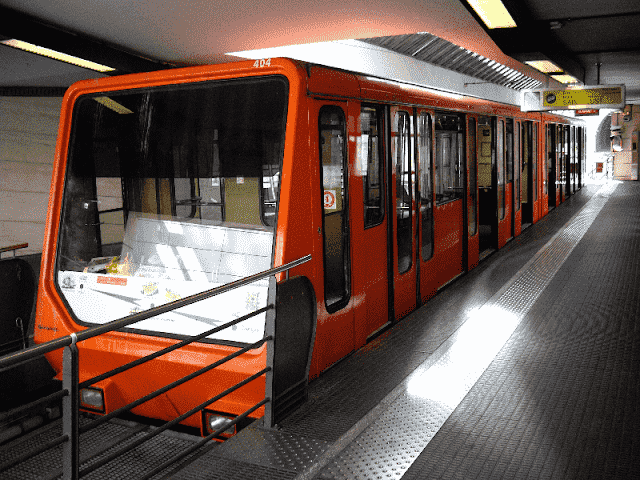 Funicular em Lyon