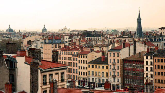 Bairro Croix Rousse em Lyon