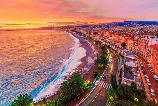 Fuso horário em Nice x Brasil