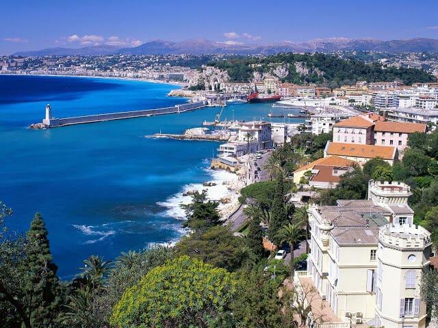Costa Azul de França