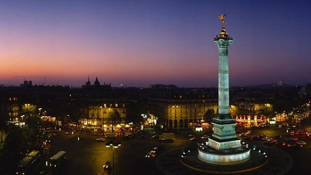 Bairro Bastille em Paris