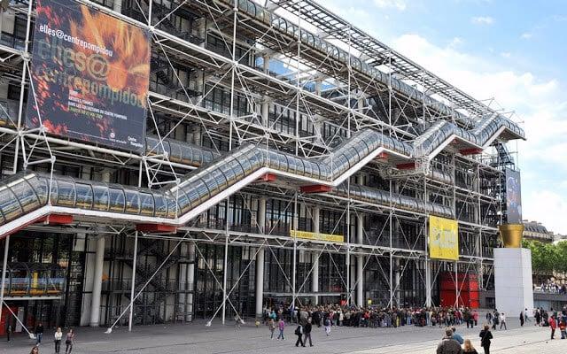 Centre Pompidou em Paris