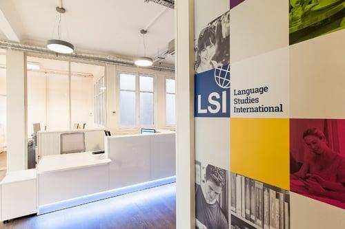 Escola de francês LSI em Paris
