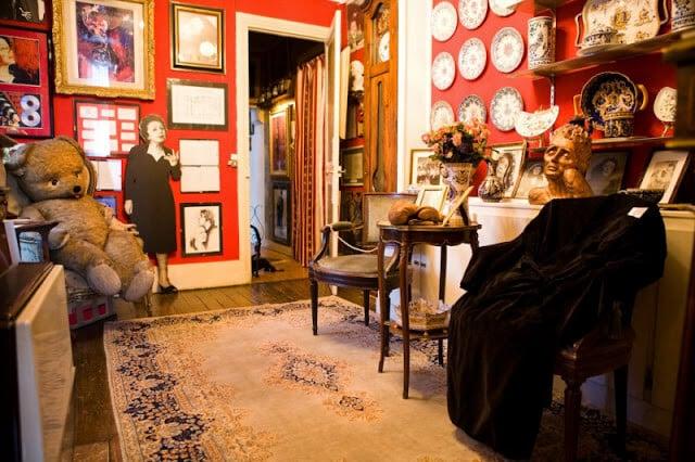 Museu de Edith Piaf no bairro Belleville