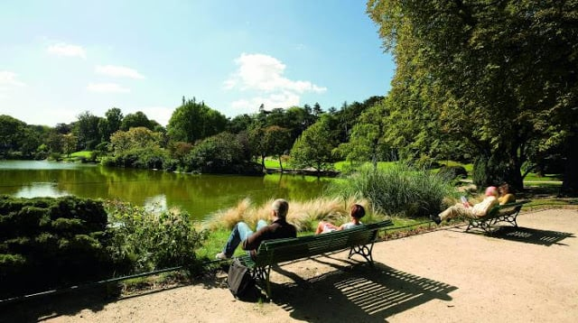 Parc Montsouris em Paris