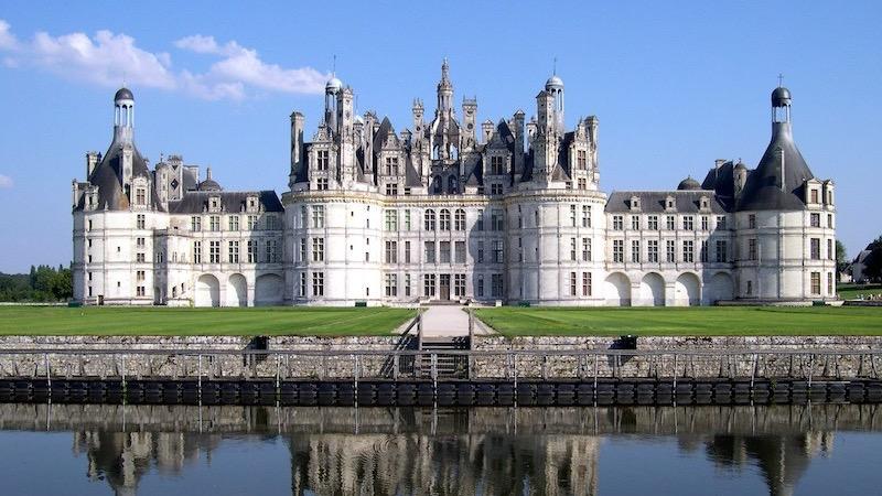 Castelo de Chambord na França
