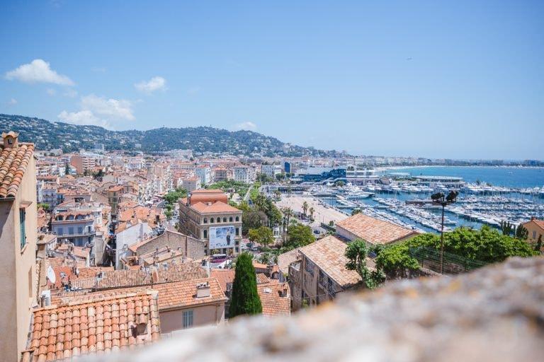 Bairro Le Suquet em Cannes