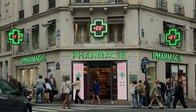 Farmácia Citypharma em Paris