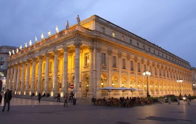 Grand Theatre em Bordéus