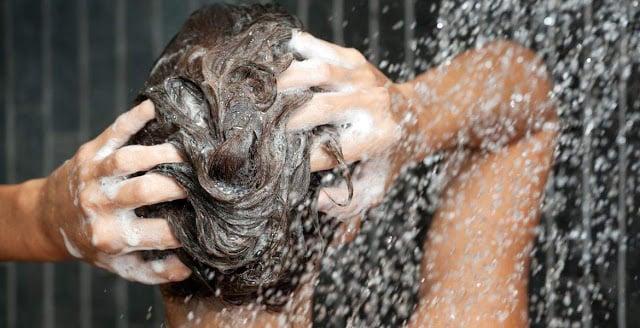 Shampoo e condicionador em Paris