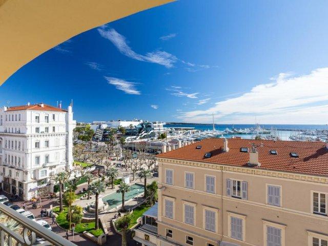 Vista de Cannes