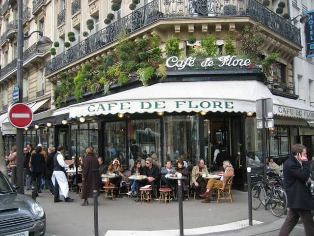 Café de Flore em Paris