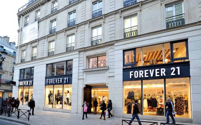 Forever 21 em Paris