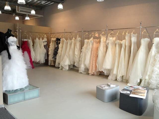 Loja de vestidos Herve Mariage em Paris