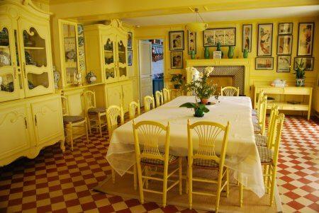 Sala de Jantar da casa de Monet
