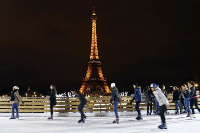 Pista de Patinação no Trocadéro