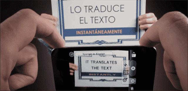 Aplicativo de tradução