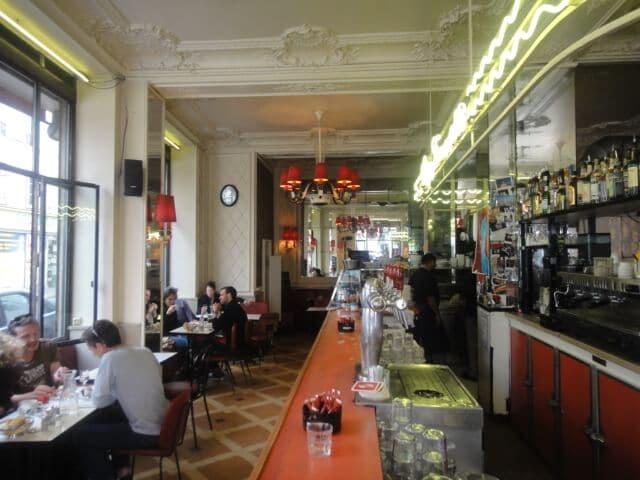Café Chez Jeannette em Paris
