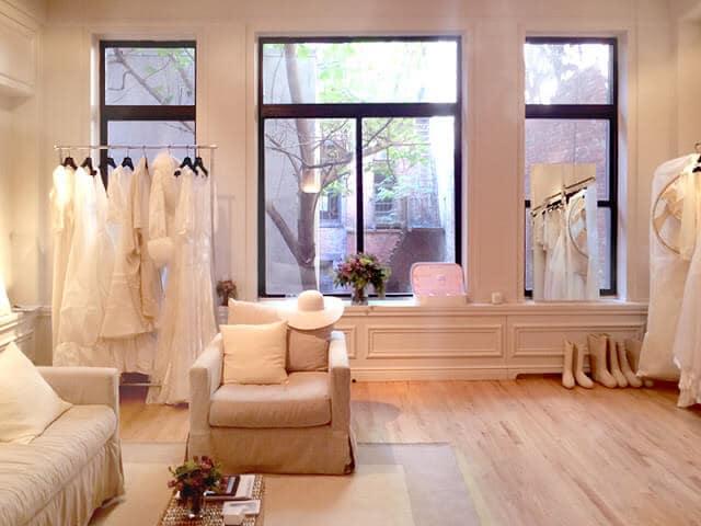 Loja de vestidos Delphine Manivet em Paris