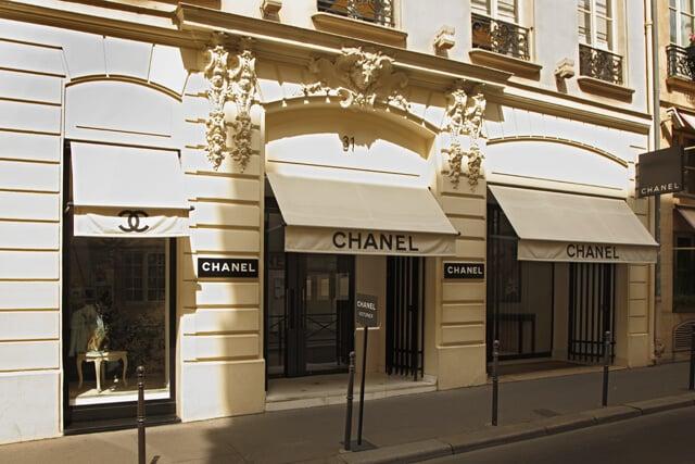 Loja da Chanel em Paris