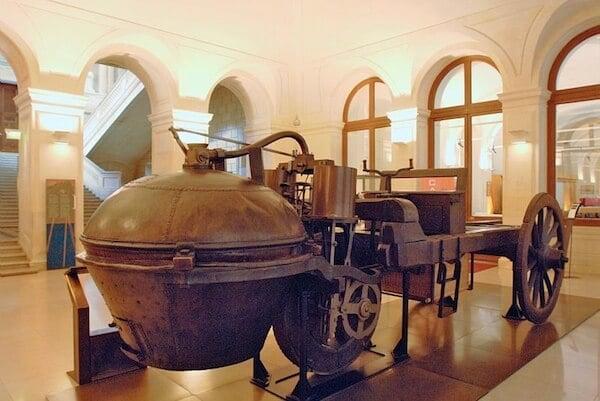 Museu des Arts e Métiers de Paris na França