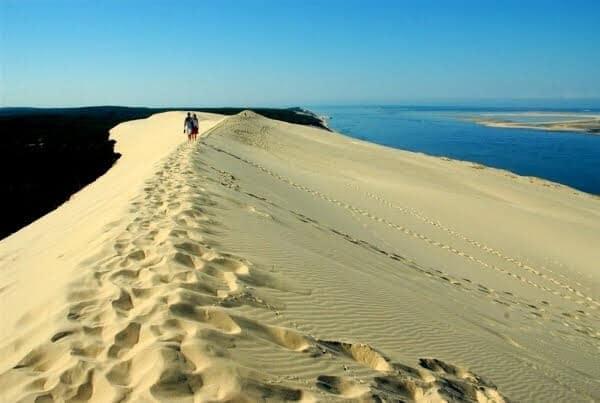 Caminhada nas Dunes de Pilat na França