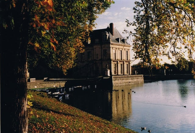 Fontainebleau perto de Paris
