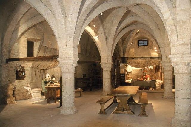 Galerias subterrâneas de Provins