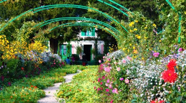 Casa e jardins de Monet perto de Paris