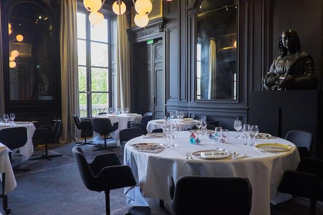Comer no Guy Savoy em Paris