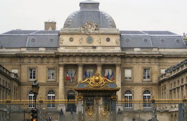 Palais de Justice em Paris