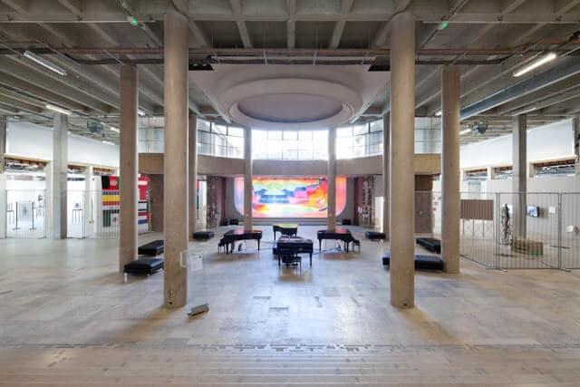 Coleções de arte do Palais de Tokyo em Paris