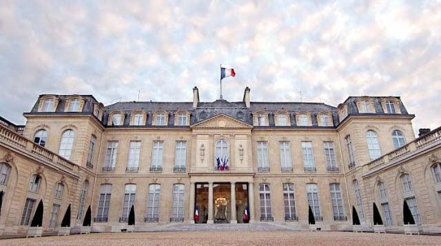 Palais de l'Elysée em Paris