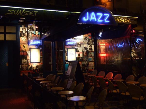 Jazz no Sunset Sunside em Paris