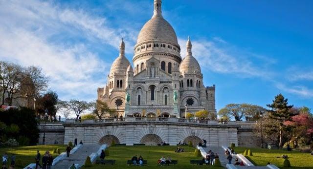 Basílica de Sacré Coeur em Paris