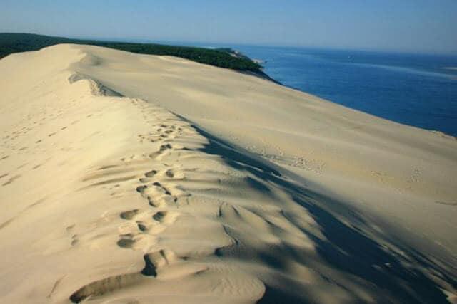 Areais das Dunes de Pilat na França