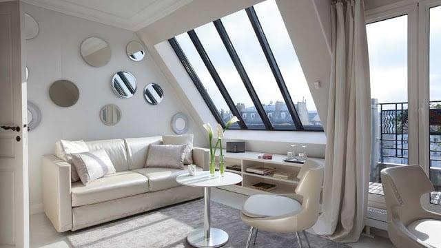 Quarto do Hotel de Banville em Paris
