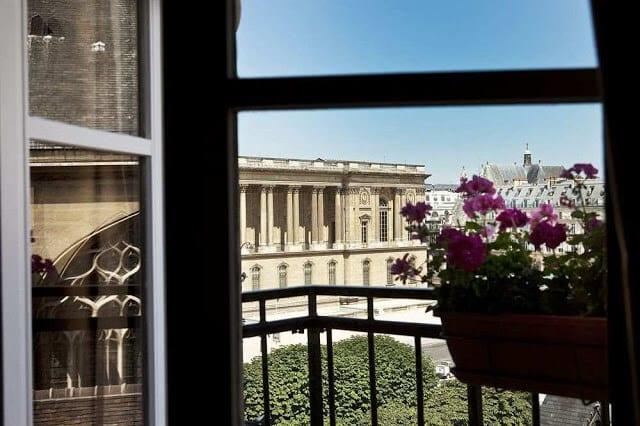 Hotel de la Place du Louvre em Paris